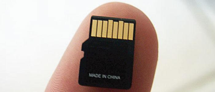 「SD」と「mini SD」「micro SD」の違いは?
