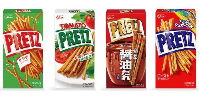 「プリッツ」と「ポッキー」の違いは?