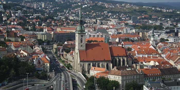 首都ブラチスラヴァ