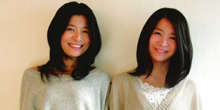 左:三倉茉奈さん 右:三倉佳奈さん