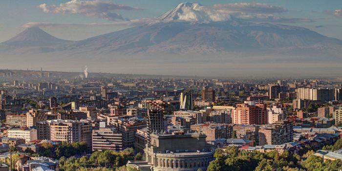 アルメニアの首都エレバン