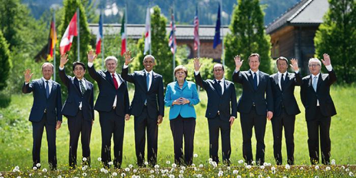 2015年 主要国首脳会議(ドイツ)