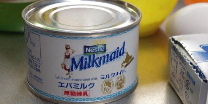 「エバミルク」と「コンデンスミルク」の違いは?
