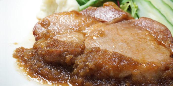 ポークジンジャー (豚の生姜焼き)