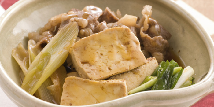豆腐 しらたき 肉 肉豆腐