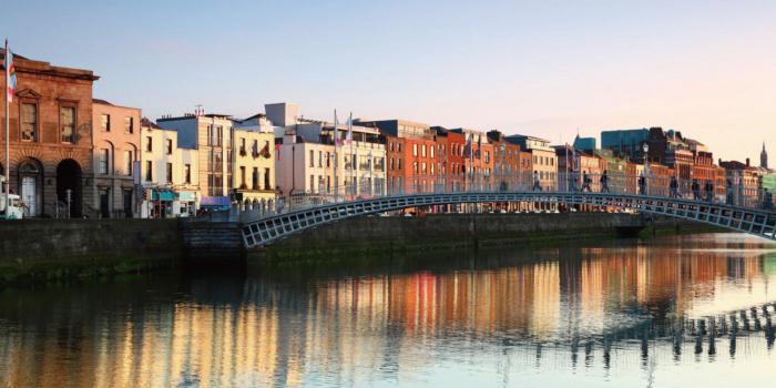 アイルランド 首都ダブリン