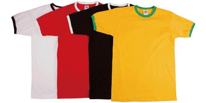 Tシャツの「リンガー」と「トリム」「パイピング」の違いは?