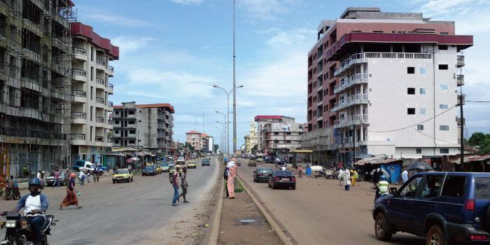 ギニア 首都コナクリ