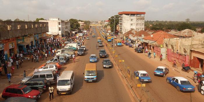 ギニアビサウ 首都ビサウ