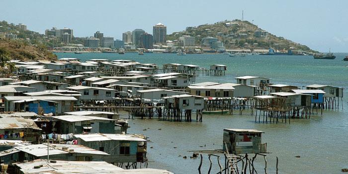 パプアニューギニア 首都ポートモレスビー