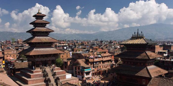 ネパール(首都カトマンズ)