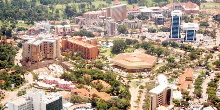 ウガンダ 首都